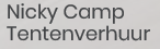 Nicky Camp Tentenverhuur logo